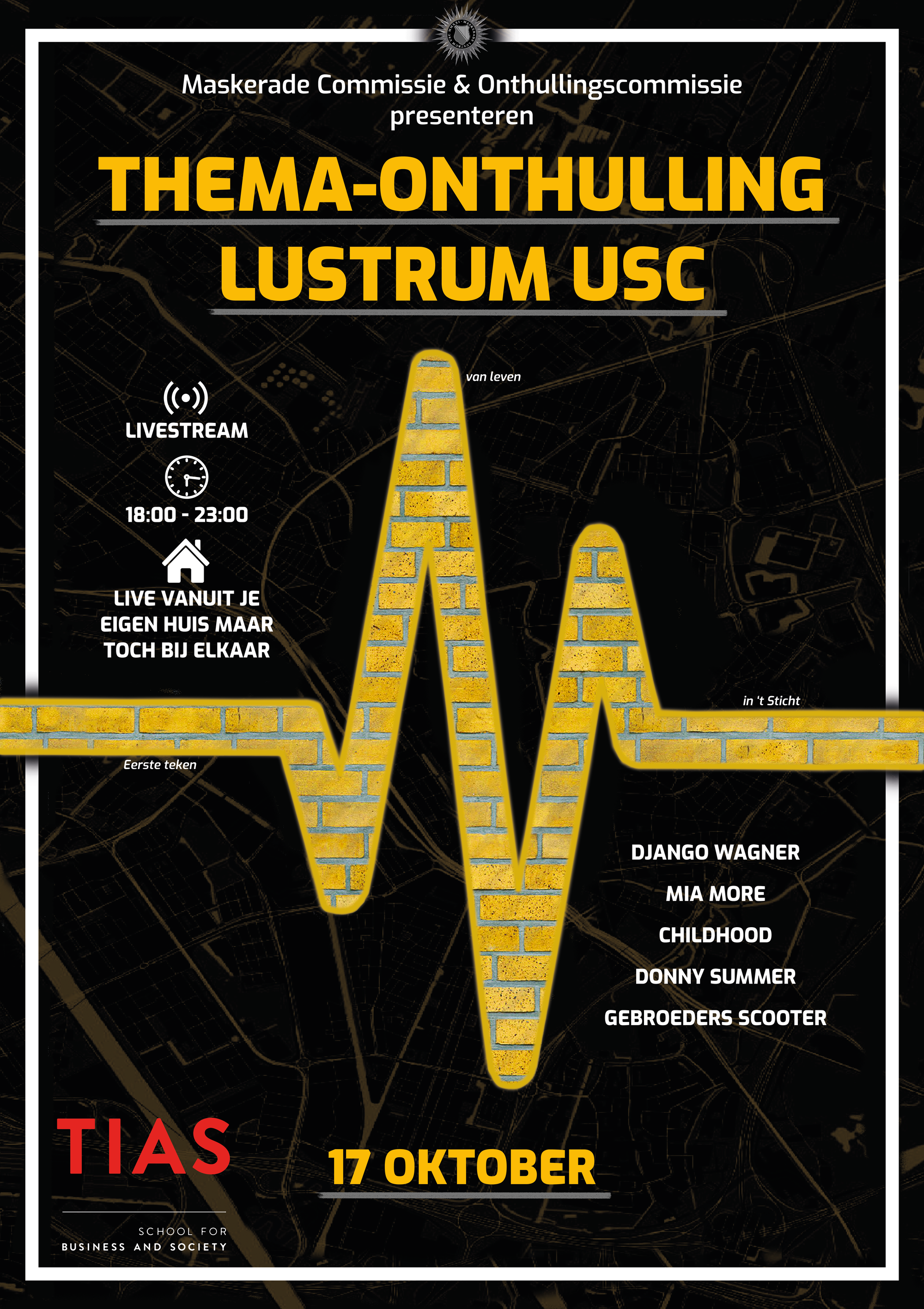 Thema-onthulling Lustrum Utrechtsch Studenten Corps