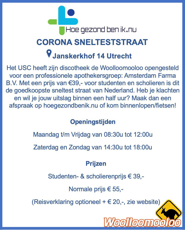 Corona Snelteststraat Amsterdam Farma B.V.