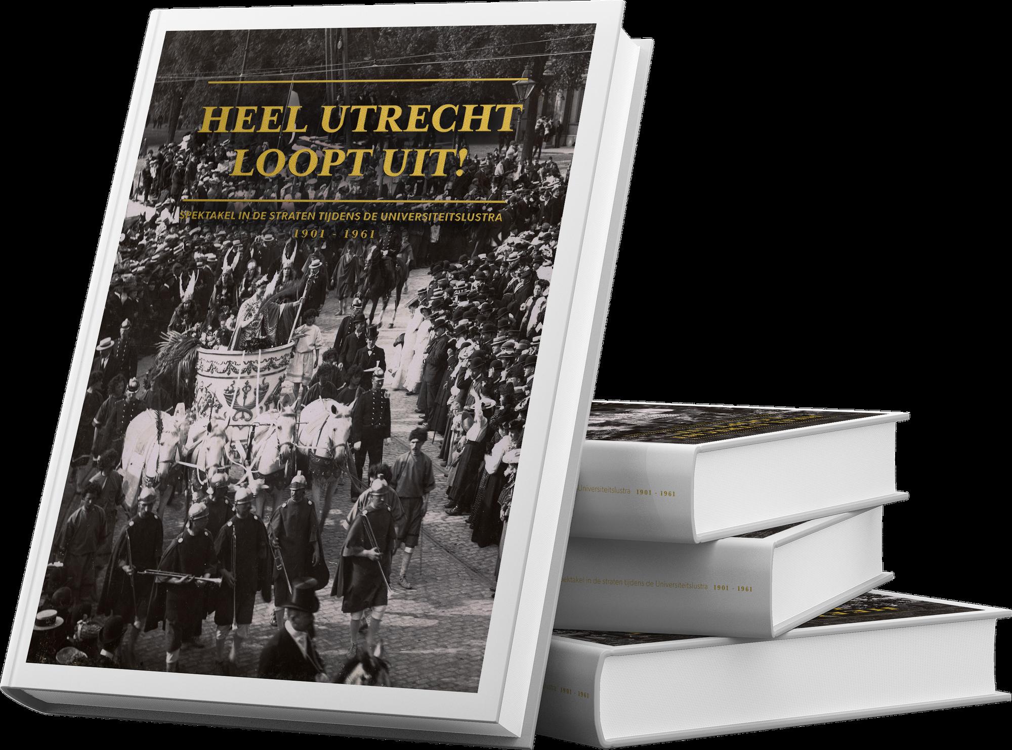 Het expositieboek 'Heel Utrecht loopt uit!'