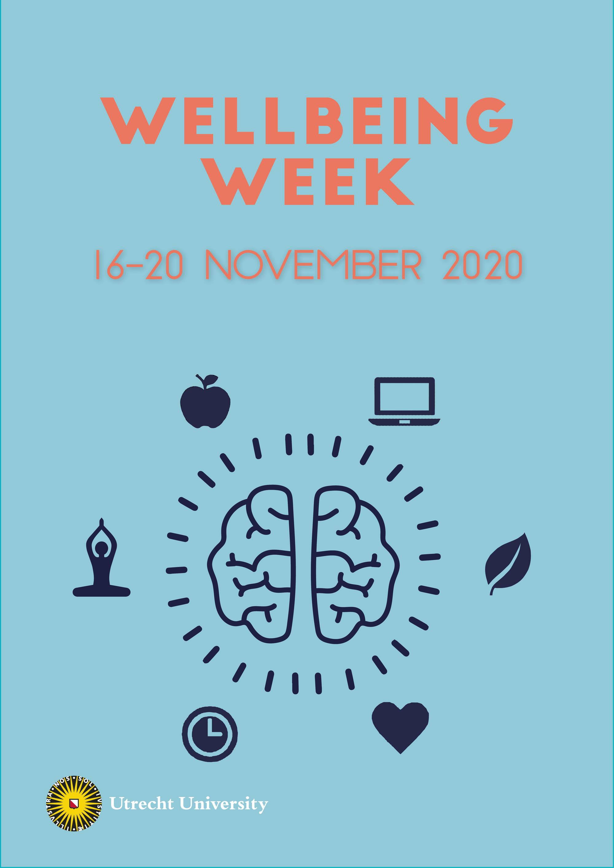 Wellbeing Week Universiteit Utrecht