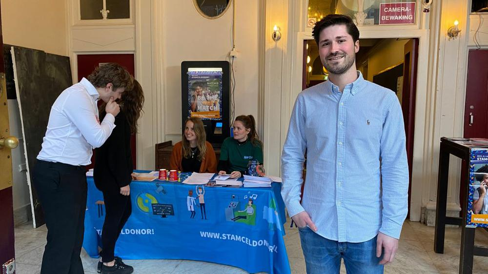 Stamceldonoren gezocht, studentenverenigingen Utrecht zetten hun deuren open